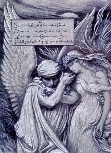 Melancholia by Elihu Vedder